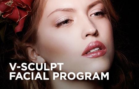 V Sculpt Facial Program