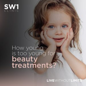 How young is too young for beauty treatments?